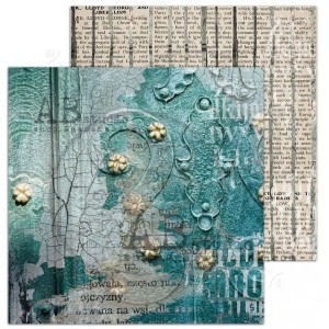 "Papier do scrapbookingu ""Love for old things""- arkusz 8 - Silence - 30x30"