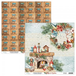 Papier Mintay 30x30 - seria HOME FOR CHRISTMAS  – 03