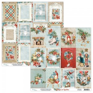 Papier Mintay 30x30 - seria HOME FOR CHRISTMAS  – 06