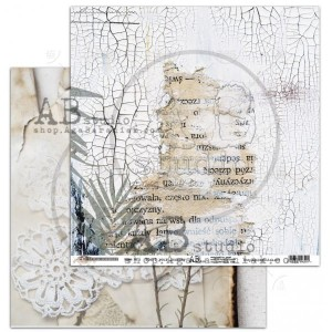 "Papier do scrapbookingu ""Rustical journey"" - arkusz 1- Start your journey - 30x30"