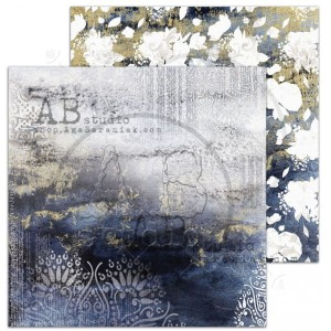 "Papier do scrapbookingu ""The Versailles""- arkusz 6 - At the ball - 30x30"