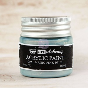 Farba akrylowa  Art Alchemy Acrylic Paint Opal Magic Pink-Blue - Finnabair