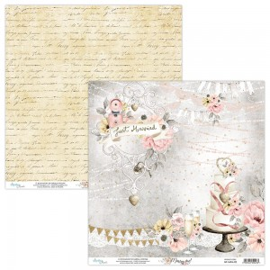 Papier Mintay 30x30 - seria MARRY ME – 02