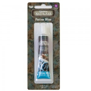Pasta metaliczna  Art Alchemy Metallique Wax Patina Blue - Finnabair (967871)