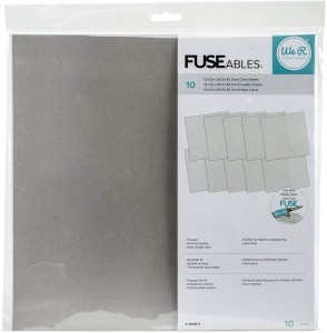 FOLIA Fuseable Clear Sheets (10szt) - We R Memory Keepers (660871)
