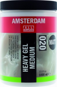 AMSTERDAM HEAVY GEL MEDIUM MATT (020) 1000 ml